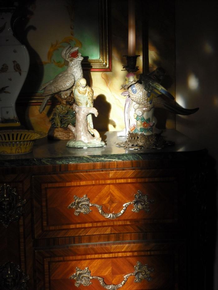 Salon des singeries chateau d ailly chambres d hotes calvados for Chambre d hote calvados